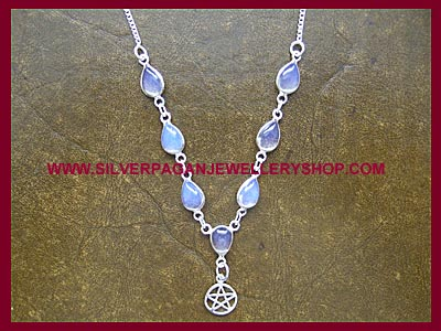 Opalite Pentagram Necklace