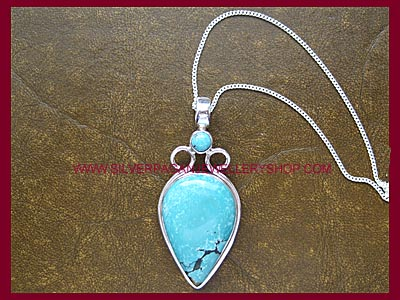 Turquoise Goddess Pendant **MORE STOCK SOON**