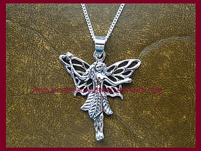 Woodland Faerie Pendant Necklace